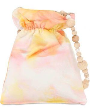 Ażurowa satynowa torebka perły Wald Berlin