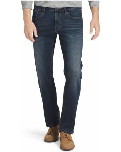 Прямые джинсы классические - синие Izod