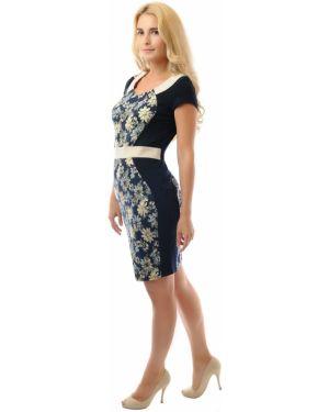 Платье с поясом платье-сарафан шелковое Dream World