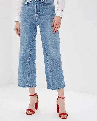Расклешенные джинсы широкие Tommy Hilfiger