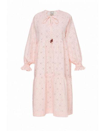 Повседневное розовое платье I-am