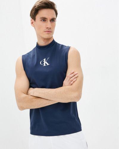 Синяя майка Calvin Klein Underwear