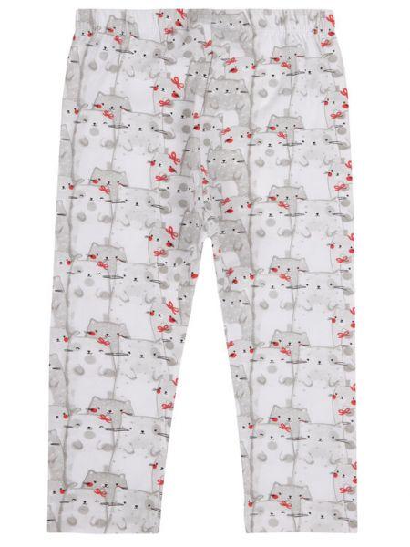 Białe legginsy Primigi