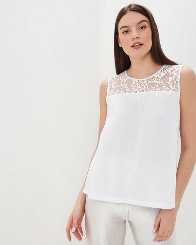 Блузка без рукавов белая весенний Baon