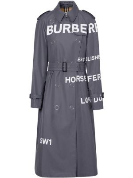 Пальто классическое с воротником с рукавом реглан на пуговицах из габардина Burberry