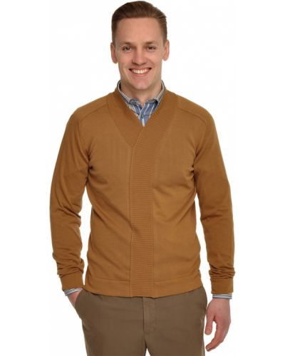 Коричневый пуловер Armani Collezioni