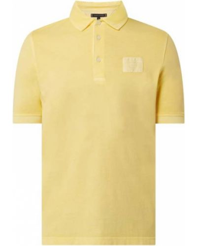 T-shirt bawełniana - żółta Tommy Hilfiger