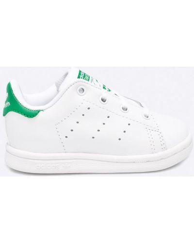 Кроссовки кожаные белые Adidas Originals