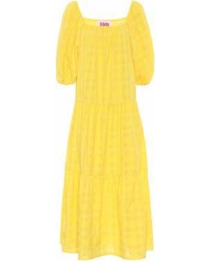 Платье миди в полоску купальное Solid & Striped
