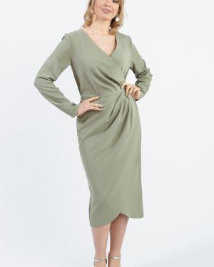 Платье с поясом с запахом с V-образным вырезом Lacywear