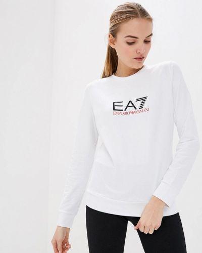 Белый свитшот Ea7