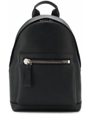 Кожаный рюкзак - синий Tom Ford