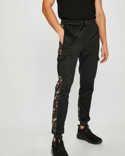 Брюки на резинке хлопковые трикотажные Guess Jeans