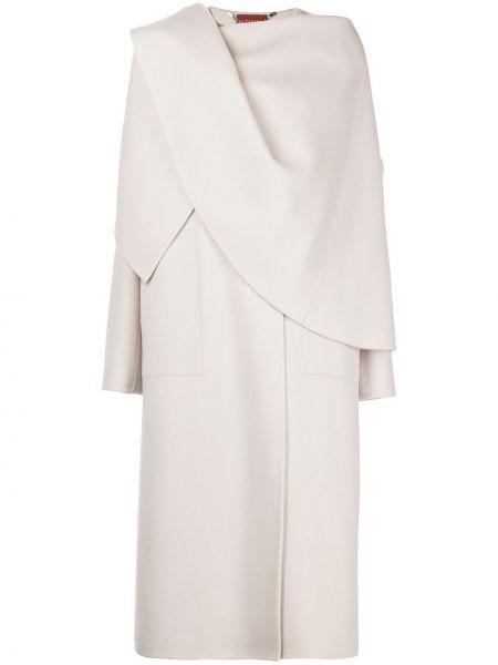Длинное пальто - белое Altuzarra