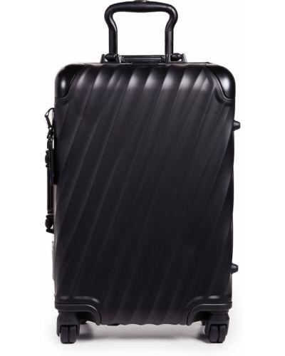С ремешком текстильный черный чемодан Tumi