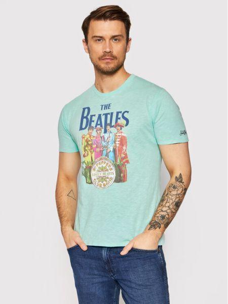 Zielona t-shirt Mc2 Saint Barth