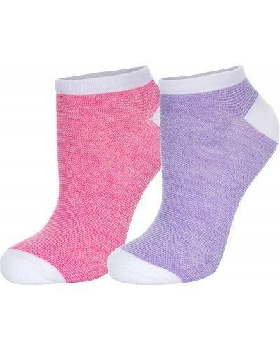 Спортивные носки - розовые Wilson