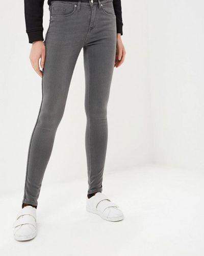 Серые джинсы-скинни Tommy Hilfiger