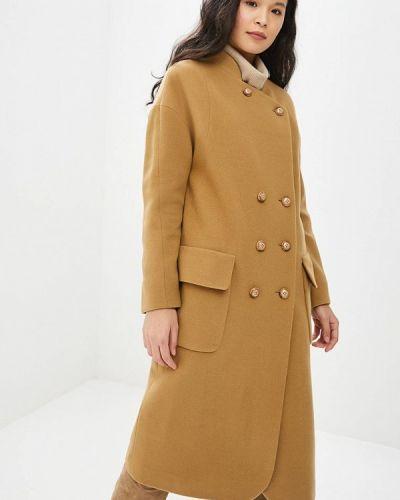 Пальто демисезонное бежевое Gamelia