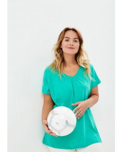 Зеленая футболка Evans