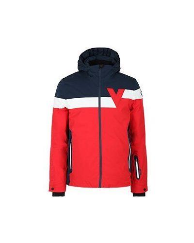 Красная куртка Vuarnet