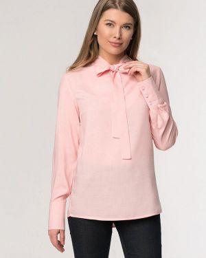 Блузка с длинным рукавом розовая весенний A'tani