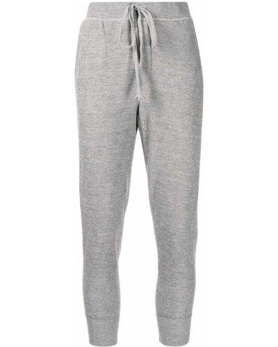 Спортивные брюки из полиэстера - серые Nili Lotan