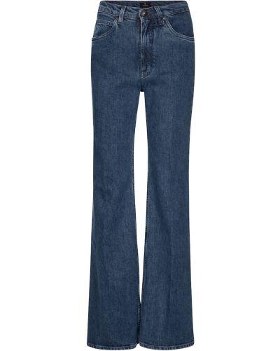 Синие широкие джинсы свободного кроя винтажные Etro