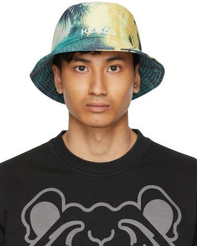 Biały kapelusz Kenzo