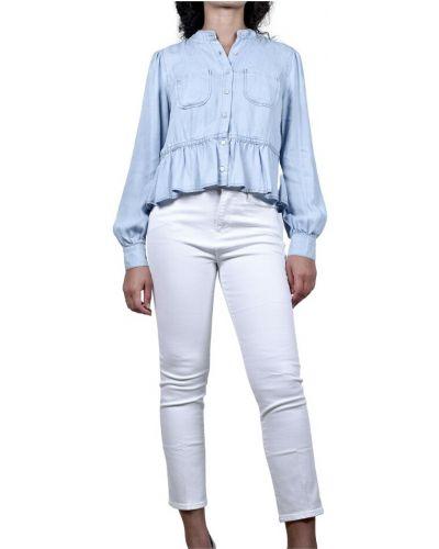 Niebieska bluzka Frame