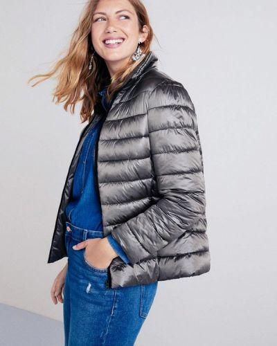 Утепленная куртка осенняя демисезонная Violeta By Mango