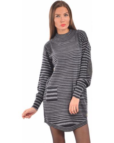 Платье осеннее акриловое Trussardi Jeans