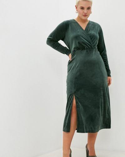Повседневное зеленое повседневное платье Zizzi