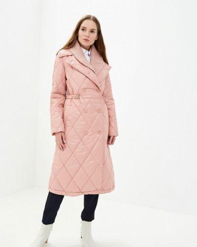 Розовая утепленная куртка Grand Style