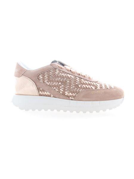 Beżowe sneakersy Stokton