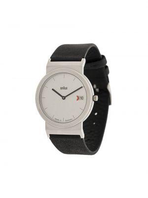 Skórzany zegarek okrągły Braun Watches