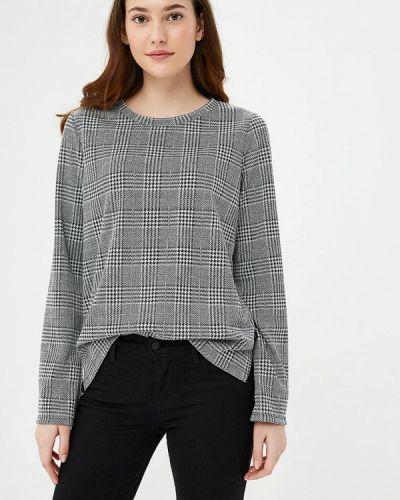 Блузка с длинным рукавом серая осенняя Q/s Designed By
