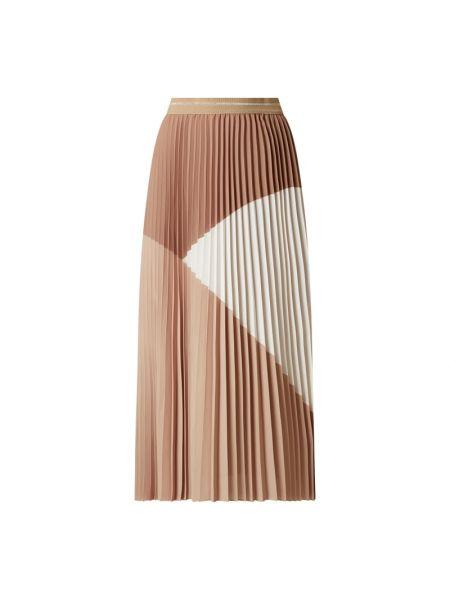 Spódnica plisowana - beżowa Mos Mosh
