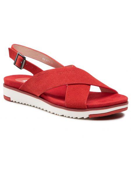 Czerwone sandały Big Star
