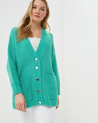 Зеленый кардиган Selected Femme