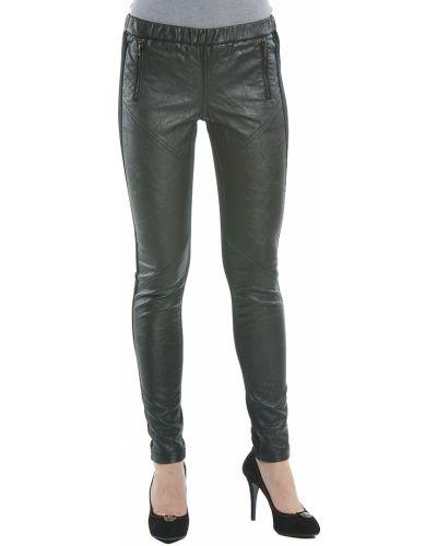 Черные брюки хлопковые Gas