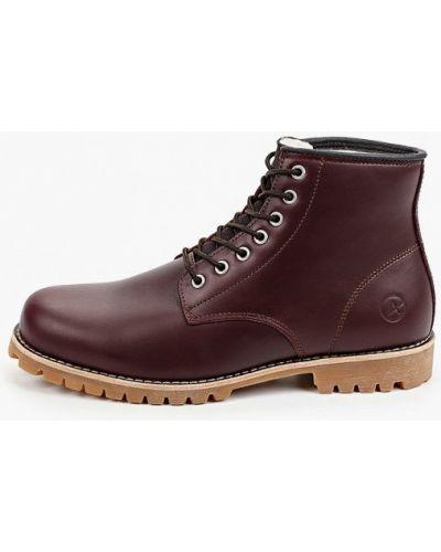Кожаные ботинки - коричневые Affex