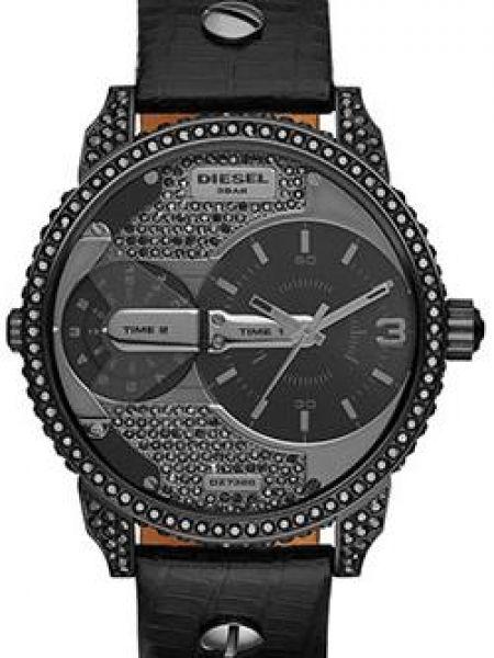 Кварцевые часы - черные Diesel