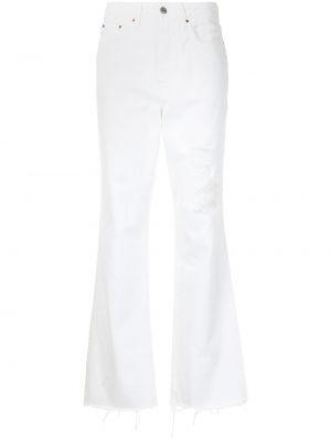 Klasyczne jeansy z wysokim stanem bawełniane Grlfrnd