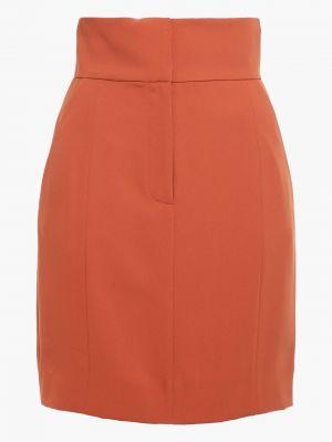 Текстильная юбка мини с карманами на крючках Sara Battaglia