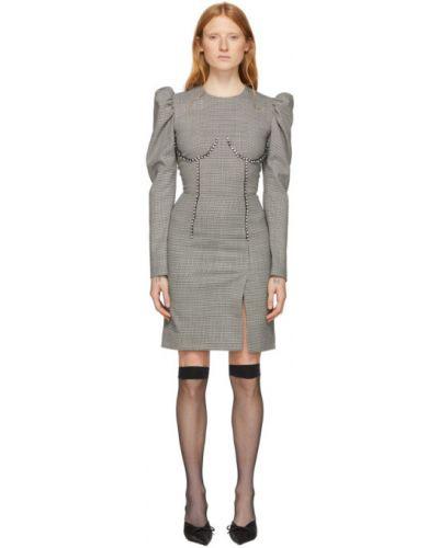 Платье макси восточное оверсайз Msgm