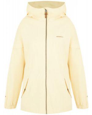 Оранжевая свободная куртка с капюшоном на молнии свободного кроя Merrell
