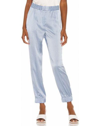 Niebieskie satynowe spodnie Bailey 44