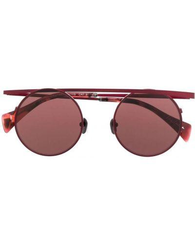 Czerwone okulary Yohji Yamamoto
