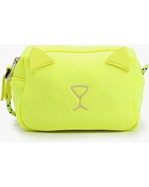Желтая сумка United Colors Of Benetton